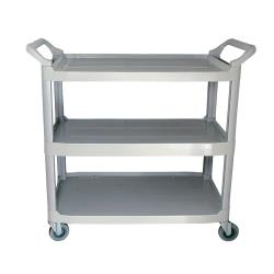Update International - BC-2416LGZ - 32 in x 16 1/4 in Gray Utility Cart image