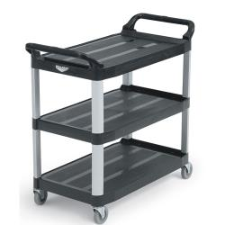 Vollrath - 97007 - 40 1/4 in x 19 7/8 in Black Utility Cart image