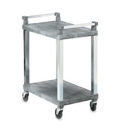 Vollrath - 97101 - 30 1/2 in x 18 1/2 in Gray Utility Cart image