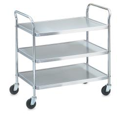 Vollrath - 97105 - 24 in x 16 in 3-Tier Stainless Steel Utility Cart image
