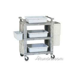 Vollrath - 97111 - 30 1/2 in x 18 1/2 in Gray Service Cart  image