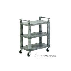Vollrath - 97112 - 30 1/2 in x 18 1/2 in Gray Utility Cart  image