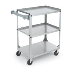 Vollrath - 97140 - 39 1/2 in x 21 in 3-Tier Stainless Steel Utility Cart image