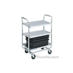 Vollrath - 97167 - 40 1/2 in x 21 in Stainless Steel Utility Cart image