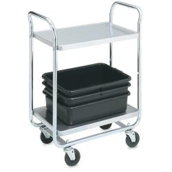Vollrath - 97167 - 40 1/2 in x 21 in 3-Tier Stainless Steel Utility Cart image