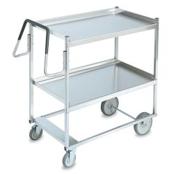 Vollrath - 97202 - 23 in x 35 in Stainless Steel Utility Cart image