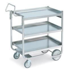 Vollrath - 97211 - 20 in x 30 in Stainless Steel Utility Cart image