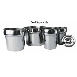 Winco - INS-2.5 - 2 1/2 qt Stainless Steel Inset image