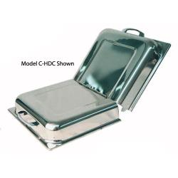 Winco - C-HDC - 21 in x 13 in Stainless Steel Cover image