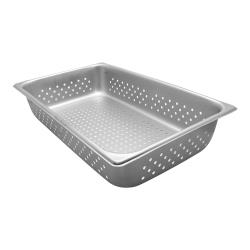 Vollrath - 30043 - Super Pan V® Full Size 4 in Deep Perforated Steam Table Pan image