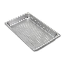 Vollrath - 30223 - 1/2 Size 2 1/2 in Super Pan V® Perforated Steam Table Pan image