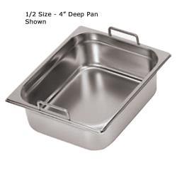 World Cuisine - 14115-10 - Half Size 4 in Deep Steam Table Pan image