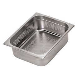 World Cuisine - 14202-02 - Full Size 3/4 in Deep Perforated Steam Table Pan image