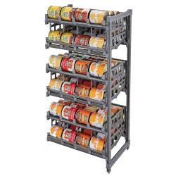 Cambro - EA243672C96580 - Camshelving® The Ultimate #10 Can Rack Add-On - Elements Series image