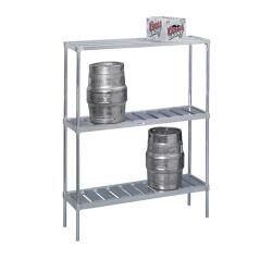 "Channel - KAR60 - 60"" Knock Down Keg Storage Rack image"