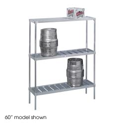 "Channel - KAR93 - 93"" Knock Down Keg Storage Rack image"
