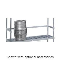 "Channel - KS193 - 93"" Back Stop for Keg Storage Rack image"
