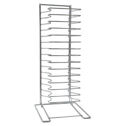 American Metalcraft - 19029 - 15 Shelf Pizza Pan Stand/Rack image