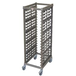 Cambro - UPR1826FPA20580 - 20 Pan Camshelving® Ultimate Pan Rack w/ Plastic Casters image
