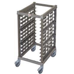 Cambro - UPR1826HP12580 - 12 Pan Camshelving® Ultimate Pan Rack w/ Plastic Casters image