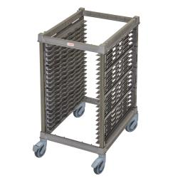 Cambro - UPR1826HP20580 - 20 Pan Camshelving® Ultimate Pan Rack w/ Plastic Casters image