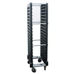 Rubbermaid - FG331700BLA - BK Mobile Steam Table Pan Rack image