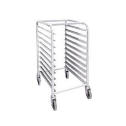 Winco - ALRK-10 - 10 Tier Aluminum Sheet Pan Rack image