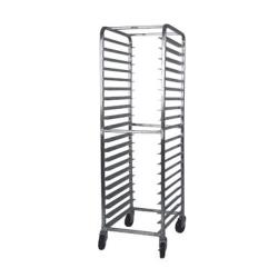 Winco - ALRK-20 - 20 Tier Aluminum Sheet Pan Rack image