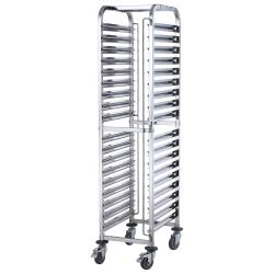 Winco - SRK-36 - 36-Tier Mobile Steam Pan Rack image