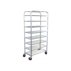 Winholt - UNAL-8-WEG - 8 Shelf Narrow Universal Pan Rack image