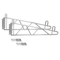 Johnson Rose - 11003 - 18 in Wire Shelf Wall Brackets image