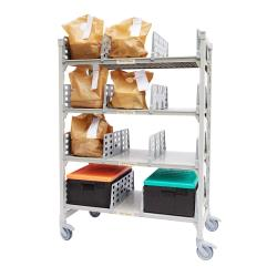 Cambro - CPM244867FX2480 - 48 in x 24 in Camshelving® Mobile Flex Station Unit image