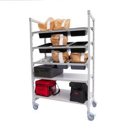 Cambro - CPM244875FX5480 - 48 in x 24 in Camshelving® Mobile Flex Station Unit image