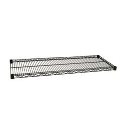 Focus Foodservice - FF2448G - 24 in x 48 in Green Epoxy Coated Wire Shelf image