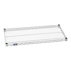 "Nexel Industries - S1842Z - Poly-Z-Brite™ 18"" x 42"" Wire shelf image"