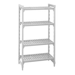 Cambro - CSU48487480 - Camshelving® 18 in x 48 in 4 Shelf Starter Unit image