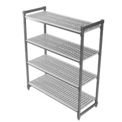 Cambro - ESU183672V4580 - 36 in x 18 in x 72 in Camshelving® Elements Starter Unit image