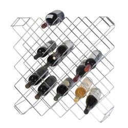Focus Foodservice - FWBR45CH - Chromate Wine & Display Rack image
