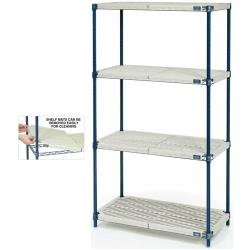 "Nexel Industries - PM24426N - Nexlite™ 24"" x 42"" x 63"" Shelving Unit image"