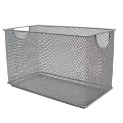 Commercial - 10 3/4 in x 5 1/2 in x 6 1/2 in Mesh Wire Bin image