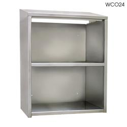 "Glastender - WC036 - 36"" Open Front Wall Cabinet image"