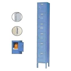 Nexel Industries - P6126AS-B - 1 x 6 Lockers image
