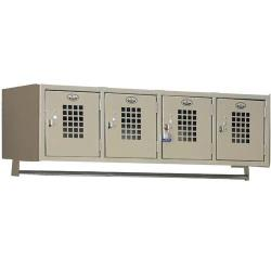 Win Holt - WL-4 - 4 Compartment Wall Mounted Locker image