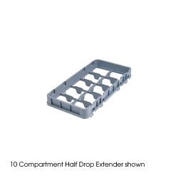 Cambro - 8HE2 - Camrack 8-Section Half Drop Extender image