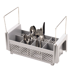 Cambro - 8FB434151 - 8 Section Half Size Flatware Basket image
