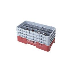 Cambro - 10HS638 - Camrack 10 Section 6 7/8 in Glass Rack image