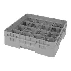 Cambro - 16S318 - Camrack 16 Section 3 5/8 in Glass Rack image