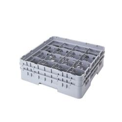 Cambro - 16S534 - Camrack 16 Section 6 1/8 in Glass Rack image