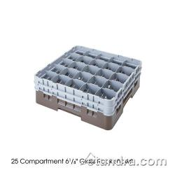 Cambro - 25S318151 - Camrack® 25 Section 3 5/8 in Glass Rack image