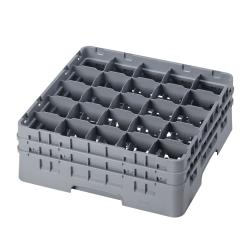 Cambro - 25S534151 - 25 Compartment 6 1/8 in Camrack® Glass Rack image